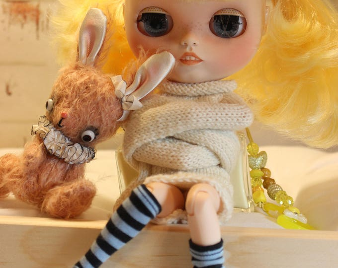 Murdock Asylum Collection Custom Blythe Creepy Strange Doll Five LARA by Shannyn Sassy Grace