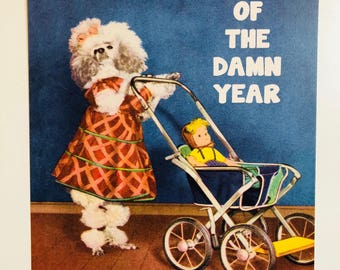 Mom Of The Damn Year - 8x10 Print
