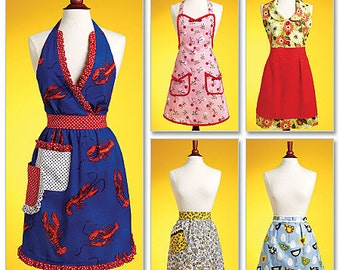 Butterick 5474, Apron Sewing Pattern, New Uncut pattern