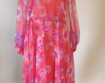 Beautiful Chiffon Spring Dress