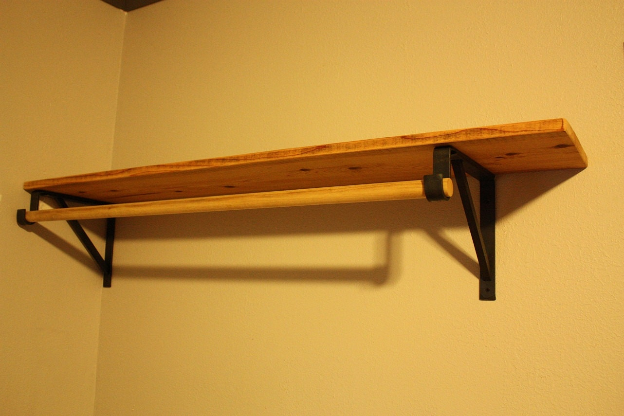 Forged Closet Rod Support Brackets