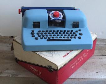 Retro Marx Toy Typewriter with Original Box