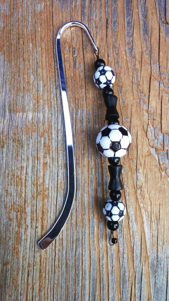 Soccer Gift, Bookmark, Gift for Athlete, Coach Present, Soccer Mom Gift Idea, Soccer Lover, Sports Birthday