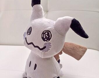 Shiny Mimikyu Pokemon Plush Handmade Fan Art Doll