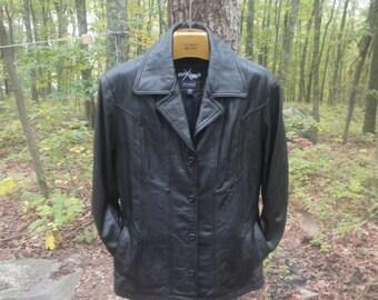 Wilsons Leather Jacket Size M