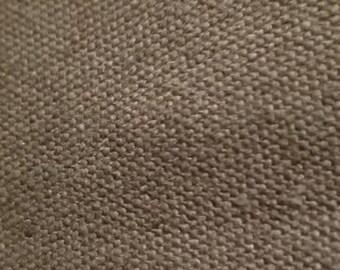 Hemp/cotton Canvas blend by the yard eco-friendly natural fiber per yard OLIVE