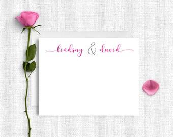 Personalized Stationery, Personalized Stationary, Personalized Note Cards, Thank You Note Cards,  Stationery Set, Custom Stationery ,CS24