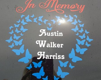 In Memory of Decal