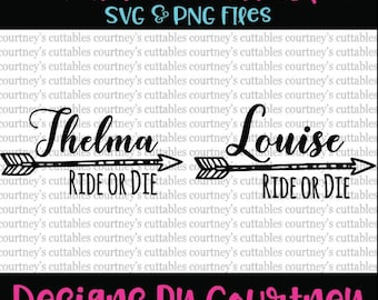 Thelma and Louise SVG