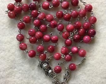 Purple Shell Rosary