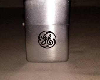 Vintage GE (General Electric) Zippo Lighter. Pat. 2032695. 1937-1950.Excellent Working Cond. Gently Used Cond.Historic GE. Free Shipping USA
