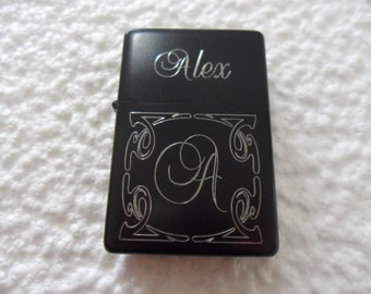 Lighter with Engraving  for a personalized gift