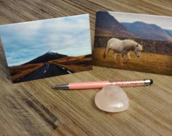 4 Art Note Cards - Icelandic Photograph Series