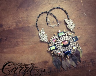 Sparkle Monster | Tribal Fusion Bellydance Necklace
