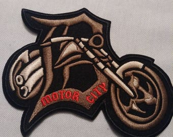 Motor City Biker Patch