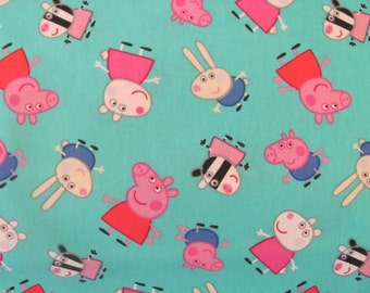 Per Yard, Peppa Pig and Friends Fabric From Springs Creative