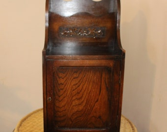 Antique Magazine Cabinet - Brought over from Wales