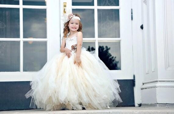 Vintage Flower Girl Dress