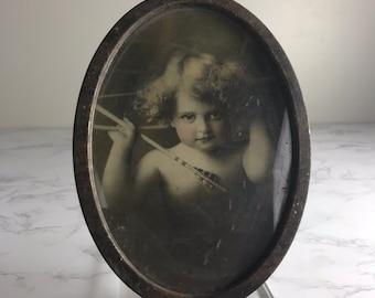 Victorian Cupid Print