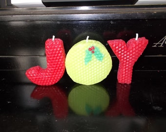 JOY Beeswax Candles