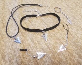 Navajo Arrowhead Pendant - Necklace, Keychain and more! Native American Arrow Head