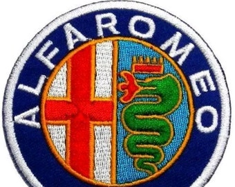 Alfa Romeo Iron on Sew on Patch