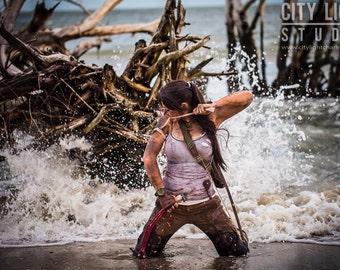 Distressed Tank Tops for Lara Croft Tomb Raider Cosplay