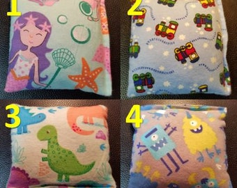 "READY TO SHIP - Large Boo Boo Bag, 5"" X 5"" Hot / Cold Packs, Rice Packs, Hand Warmer"