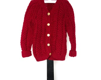 Classic Hand-Knit Boys' Sweater