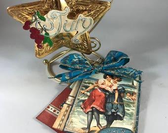 Christmas Ornament November Ornament & Brag Book