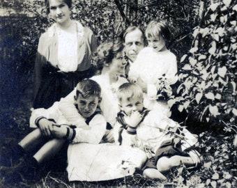 vintage photo 1912 Billy Seaborn Bruce Wellsville NY Beauty Family