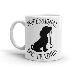 Professional Dog Trainer Ceramic Mug