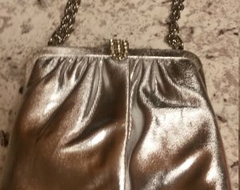 Vintage Silver Evening Bag Formal