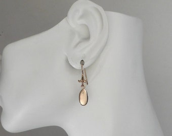 Bronze Drop Earrings Small Drop Earrings Made in Montana Fine Jewelry 8th Anniversary Gift for Women Birthday Gift under 30