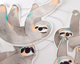 Garland Of Sloths - Cute Paper Garland