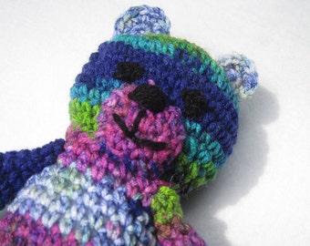 Crochet Teddy Bear in a Multitude of Colors