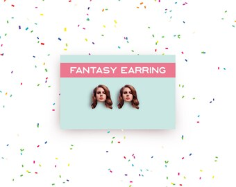 SALE! Lana Del Rey earring