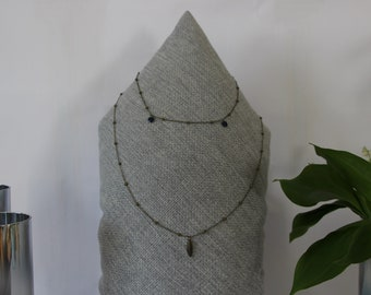 Double necklace Bime