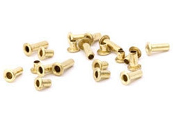 "1/16"" Brass Eyelet Sample Pack (24 pcs) made by CRAFTED FINDINGS"