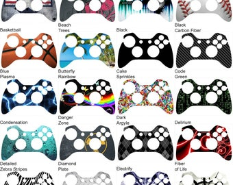 Choose Any 2 Vinyl Skin/Sticker/Decal Designs for the Xbox One Controller