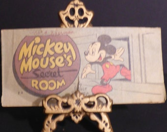 1947 Mickey Mouse's secret room mini comic