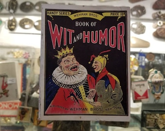 Wehman Bros.' Book of Wit and Humor, 1912 - Antique Joke Book