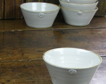 Cereal bowls - hand-thrown pottery