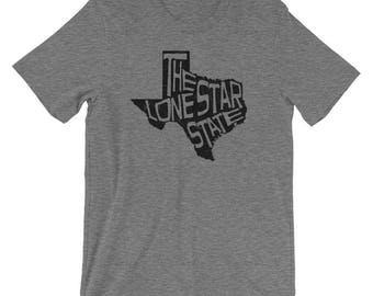 Texas T-Shirt - The Lone Star State