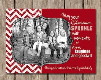 May your Chrismas Sparkle Christmas Card