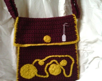 wine and mustard bag well crafted fully lined