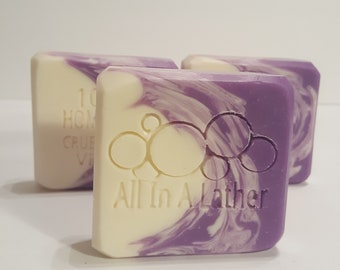 Amethyst Cold Process Soap