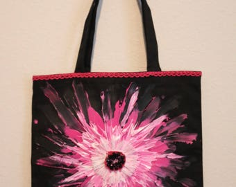 Hand Painted and Beaded Basically Yours Tote