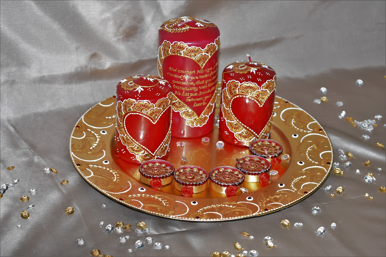 Mehndi Plates Uk : Wedding plate set mehndi thaal