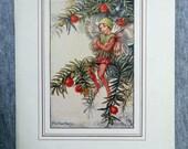 Yew Flower Fairy Vintage ...